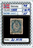 EUROPE:NORWAY #CLASSIC#1860># (NOW-250C-1) (51) - Norvège