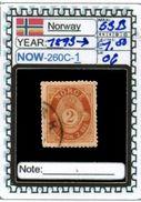 EUROPE:NORWAY #CLASSIC#1860># (NOW-250C-1) (06) - Norvège