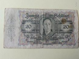 20 Schilling 1946 - Austria