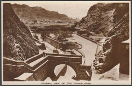 General View Of The Tanks, Aden, C.1920s - Benghiat RP Postcard - Yemen