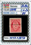 EUROPE:NORWAY #CLASSIC#1860># (NOW-250C-1) (09) - Norvège