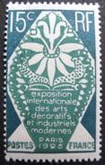 LOT R1631/2062 - 1924 - EXPO INT DES ARTS DECO PARIS - N°211 NEUF* - France