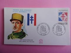 FRANCE FDC 1990 YVERT 2656 APPEL A LA RESISTANCE - FDC