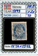 EUROPE:NORWAY #CLASSIC#1860># (NOW-250C-1) (10) - Norvège