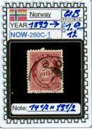EUROPE:NORWAY #CLASSIC#1860># (NOW-250C-1) (12) - Norvège