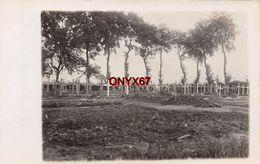Carte Photo Militaire Allemand Friedhof Cimetière Militaire Nord-Pas De Calais-Ardennes-Somme  A SITUER A LOCALISER - Cimiteri Militari