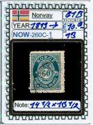 EUROPE:NORWAY #CLASSIC#1860># (NOW-250C-1) (13) - Norvège