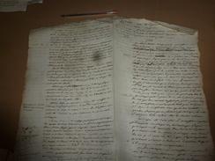 1812  ARRÊT Contre Le Boulanger (nommé Ci-devant) De Chatellerault Prévenu D'avoir Vendu Du Pain à Poids Léger ,etc - Manuscrits