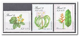 Brazilië 1989, Postfris MNH, Flowers, Plants - Brazilië