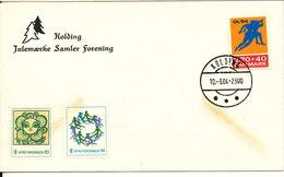 Denmark Cover Kolding Christmas Seal Collectors' Club 10-3-1984 - Denemarken