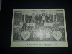 Origineel Knipsel ( 970 ) Uit Tijdschrift :  Wolverthem  Wolvertem   1933 - Ohne Zuordnung