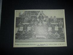 Origineel Knipsel ( 972 ) Uit Tijdschrift :  Attenroode  Attenrode    1933 - Vieux Papiers