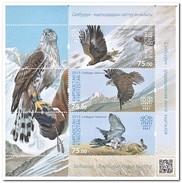 Kirgizië 2015, Postfris MNH, Birds - Kirgizië