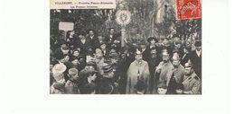 54.. WWI VILLERUPT FRONTIERE FRANCO ALLEMANDE  CASQUES A POINTE 1908  TBE - Francia