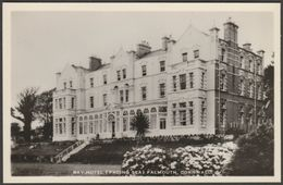 Bay Hotel (Facing Sea), Falmouth, Cornwall, C.1960 - Southwoods RP Postcard - Falmouth