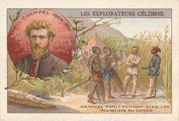 Paul Crampel Nancy Congo Explorateur Explorer Discoverer Ancienne Chromos - Andere