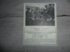 Origineel Knipsel ( 1224 ) Uit Tijdschrift :  Les Marchés D' Assche  Asse - Vieux Papiers