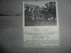 Origineel Knipsel ( 1225 ) Uit Tijdschrift :  Les Marchés D' Assche  Asse - Vieux Papiers