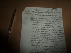 1812  DECISION Sur Le DROIT De CAPTURE Pour Les Arrestations Par Les Gardes En Vertu De Mandat D'amener Ou De Dépôts,etc - Manuscrits
