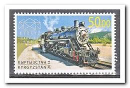 Kirgizië 2014, Postfris MNH, Trains - Kirgizië