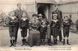 NANTES - Nantes Butter - Le Directeur Et Sa Petite Famille - Nantes