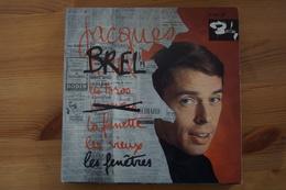 JACQUES BREL  LES TOROS EP DE 1963 LANGUETTE (VARIANTE) - Formats Spéciaux
