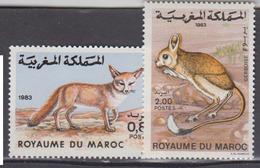 MAROC      1984           N    962 / 963     COTE    2 , 00  EUROS           ( 113 S ) - Maroc (1956-...)