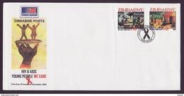 Zimbabwe 2005 HIV / Aids First Day Cover / Ersttagsbrief (Simbabwe) - Zimbabwe (1980-...)