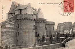 NANTES - L'entrée Du Château - Nantes