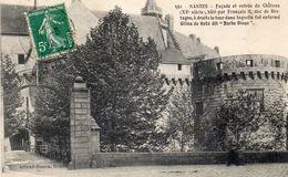 NANTES - Façade Et Entrée Du Château - Nantes