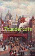 CPA ILLUSTRATEUR RAPHAEL TUCK LONDON ARTIST SIGNED ST PAULS FROM LUDGATE CIRCUS - Tuck, Raphael