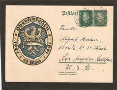 1931 OBERSCHLESIEN Obl 24.3.31 - Briefe U. Dokumente