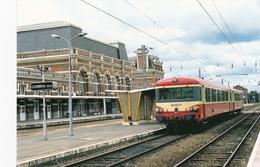 CAMBRAI - Autorail En Gare De Cambrai - Cambrai