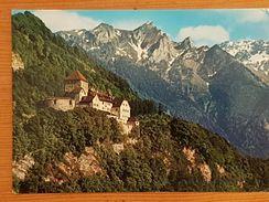 Schloss Vaduz, Gelaufen 1981 - Liechtenstein