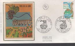 FDC -  Enveloppe 1er Jour PAYS DE LA LOIRE - 6 SEPT1975 - NANTES - 1970-1979