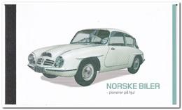 Noorwegen 2017, Postfris MNH, Cars, Booklet - Ongebruikt