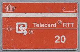 BE.- België. Telecard  RTT. TELECOM. - 20 Units. 103B82760 - [2] Prepaid & Refill Cards
