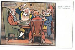 JEU DE CARTES - TAROT - GARDE A CARREAU N'EST PAS CAPOT - GRAVURES ANCIENNES Illustré Par STRELLETT /RAPHAEL TUCK 245 - Cartes à Jouer