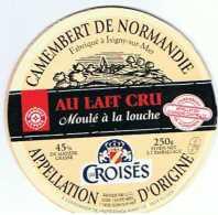 FR1030 - Camembert Les Croisés - Marque Repère - Fromage