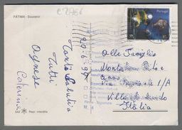 C2766 PORTUGAL Postal History 1998 OCEANOS FUTURO EXPO 98 FATIMA DISCREET (m) - Lettere
