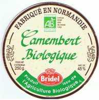 FR1295 - Camembert Bridel - Biologique - Fromage
