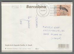 C2783 Espana Postal History 1997 UPAEP ANIMAL BIRD (m) - 1931-Today: 2nd Rep - ... Juan Carlos I