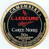 FR2086 - Camembert Lescure - Carte Noire - Fromage