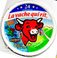 FR2266 - Fromage Fondu La Vache Qui Rit - 24 Portions - Affronte Les Monstres Digitaux Digimon - Fromage