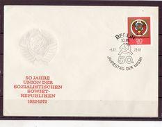 DDR, Nr. 1813,  FDC - FDC: Briefe