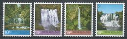 New Zealand 1976. Scott #604-7 (M) Waterfalls - Ongebruikt