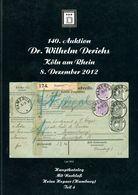 140. Derichs Auktion 2012 - Auktionskataloge