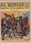 Caricature Satirique Anti-Kaïser Guillaume II Sultan Ottoman Mehmed V Armée Anglaise Contre Turcs Bayoud Magibra 3 Scans - Revues & Journaux