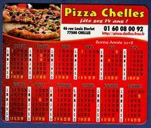MAGNET Publicitaire : Pizza Chelles, Calendrier 2018 - Advertising