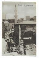 TRIPOLI - VIA DELLA MARINA 1916   VIAGGIATA FP - Libya